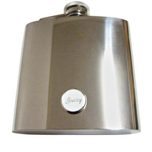 Guilty Law Large Flask